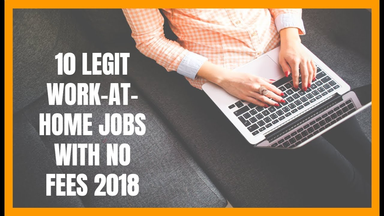 Legit at home jobs for moms 2018