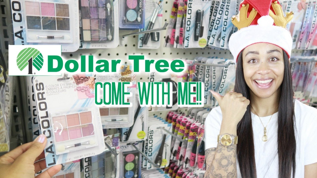 Come with Me to Dollar Tree! NEW Makeup 💖💄💖 - YouTube