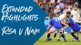 Extended Highlights: South Africa v Namibia - Rugby World Cup 2019