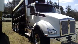 Kenworth T880 Tri-Axle Dump Truck