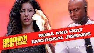 Rosa and Holt The Emotional Jigsaws | Brooklyn Nine-Nine