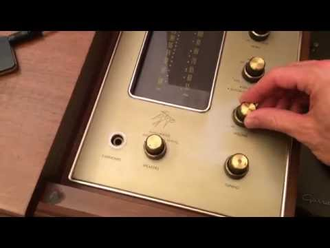 Fisher Electra Console Model E-49 Demo - 590-T / 481-A - Fisher Branded Telefunken Tubes