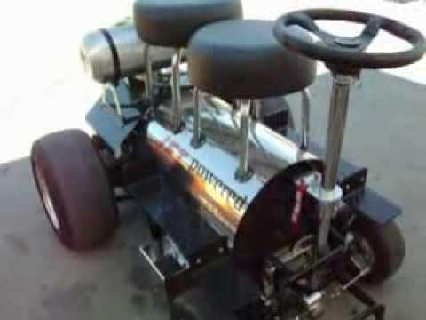 Redneck Jet Powered Motorized Bar Stool Youtube