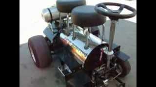 Redneck Jet Powered Motorized Bar Stool
