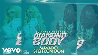 Mavado, Stefflon Don - Diamond Body (Official Audio)