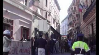 Abbracciamo la cultura manifestazione a Cagliari