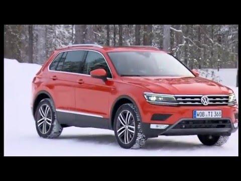 Test drive VW Tiguan 2016 модельного года