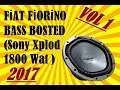 F?AT F?OR?NO BASS BOSTED (Sony Xplod 1800 Wat )