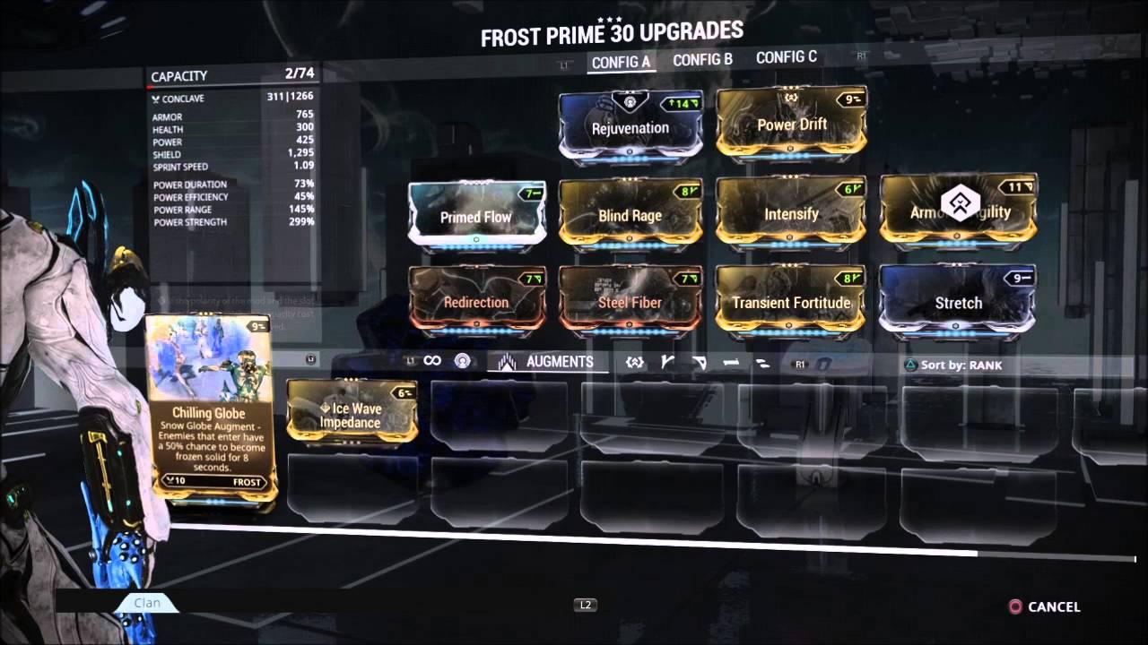 Frost Prime Mod Build