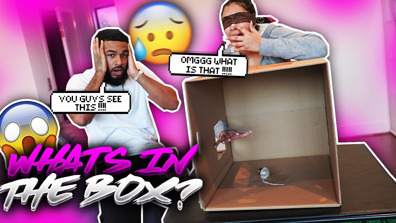 WHAT'S IN THE BOX CHALLENGE (EXTREMELY FUNNY)