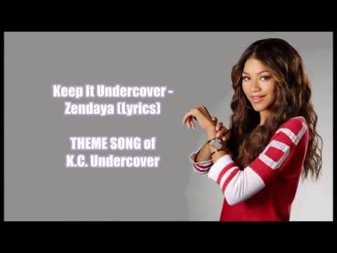 Zendaya - Keep It Undercover (Lyrics)