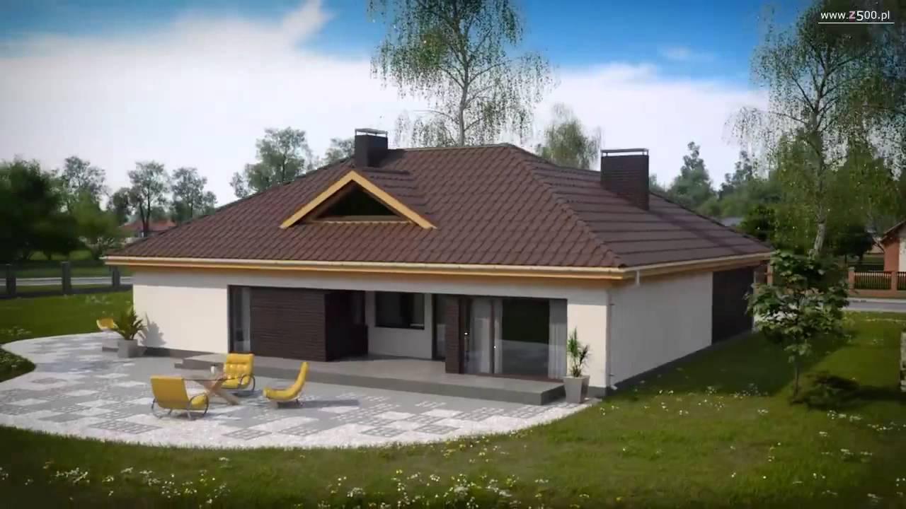 124b53bd2118 Проекты Z500 - проект одноэтажного дома Z144 - YouTube