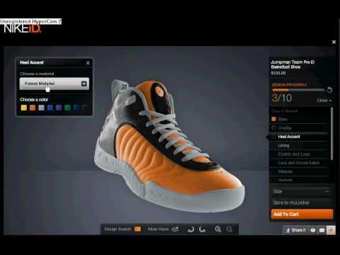 d5fb12967fef How to Create Buy Custom Shoes - YouTube