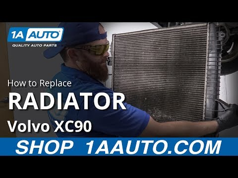 How to Replace Radiator 03-12 Volvo XC90