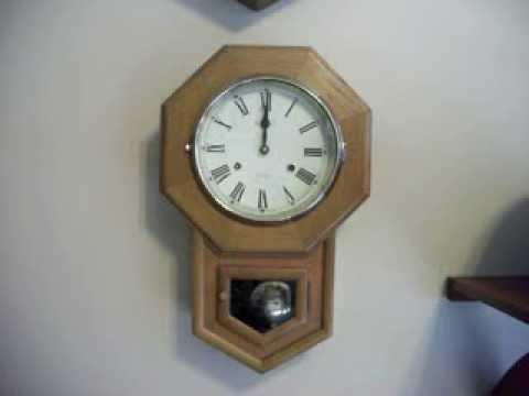 Legant 31 Day Schoolhouse Wall Clock Youtube