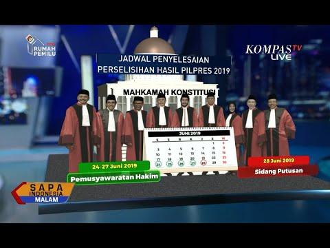 TKN Jokowi-Ma'ruf: Kami Yakin 9 Hakim Akan Tolak Dalil Permohonan Prabowo