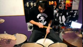 MAN IN THE BOX - Alice In Chains - DRUM COVER - ADAM BARCK