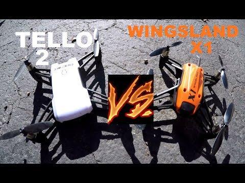 DJI RYZE TELLO 2 vs Wingsland X1 Flyability PRICE Comparison Review