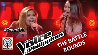 "The Voice of the Philippines Battle Round ""Through The Fire"" by Mecerdita and Mackie (Season 2)"