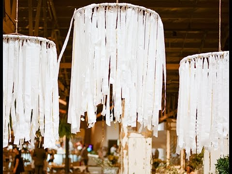 Diy Streamer Chandeliers