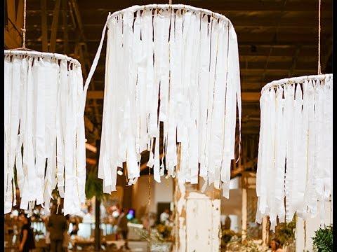 Diy streamer chandeliers youtube diy streamer chandeliers aloadofball Images