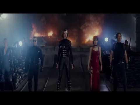 Resident Evil Retribution Humanity S Last Stand Ending Scene
