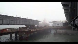 Керченский мост. Сегодня 23 ноября 2017. Нове видео. Крым мост