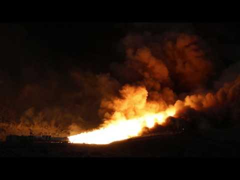 QM-1 Rocket Test Fire in Utah