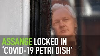 COVID-19 in Belmarsh | Assange behind bars while real criminals are released - Hrafnsson