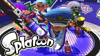Splatoon - Squid or Die!!! [Turf Wars] - Wii U Gameplay