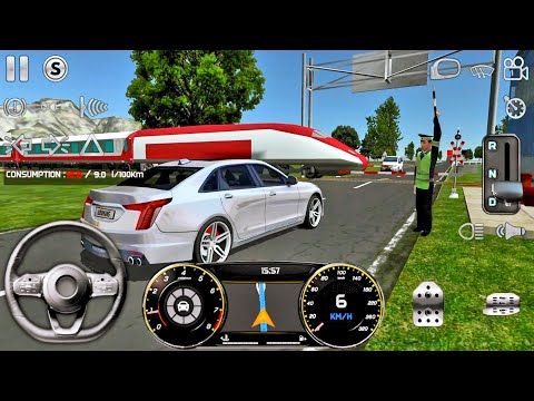 real-driving-sim-#18-london-&-paris!-car-games-android-gameplay