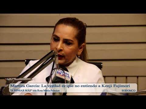 Martiza García: La verdad es que no entiendo a Kenji Fujimori