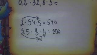 Математика 5 клас. Множення десяткових дробів. Урок 2