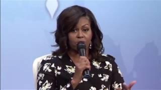 Michelle Obama meets Tanzanian Girls