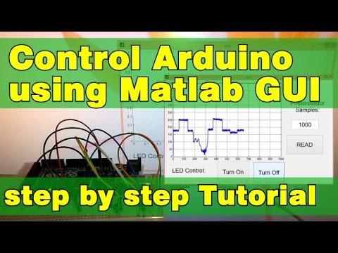 Arduino and Matlab GUI Tutorial - HowToMechatronics