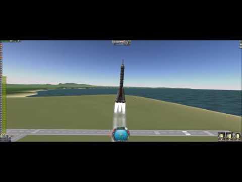 KSP 1.2 - stock soyuz rocket