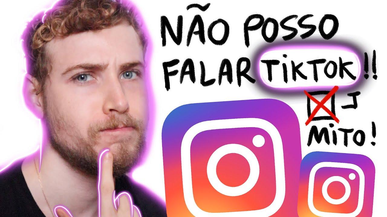 Mitos e verdades do Instagram (Insta me contou)! Pode dizer/escrever Tik Tok? | Igor Saringer