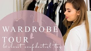 Wardrobe Tour and Closet Confidential Tag | Hello October