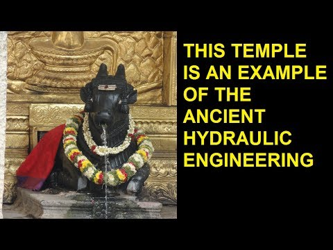 This temple is an example of ancient hydraulic engineering