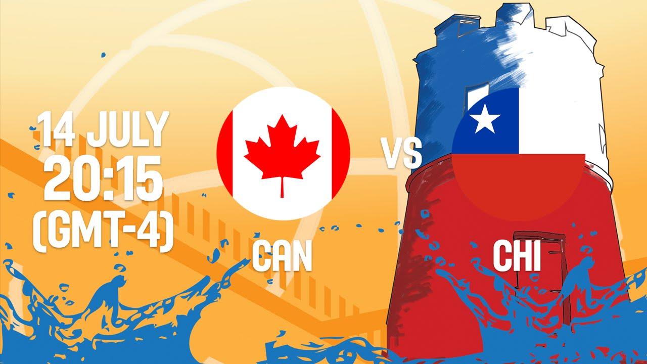 Canada v Chile - Full Game - Group B - 2016 FIBA Americas U18 Women's Championship
