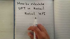 How to calculate UPT in retail easy way