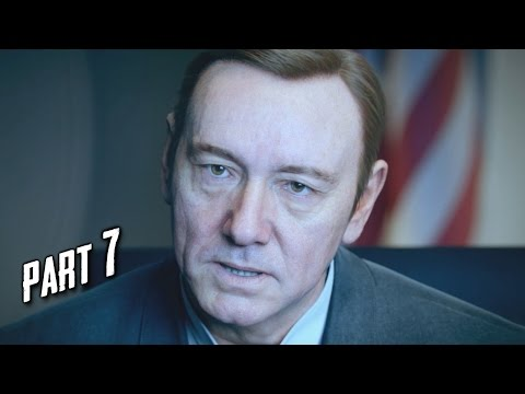 Call of Duty Advanced Warfare Walkthrough Gameplay Part 7 - Manhunt - Campaign Mission 6 (COD AW)
