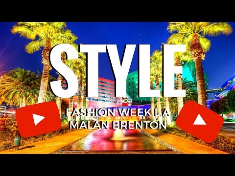 Style Fashion Week L.A - Malan Breton 2017