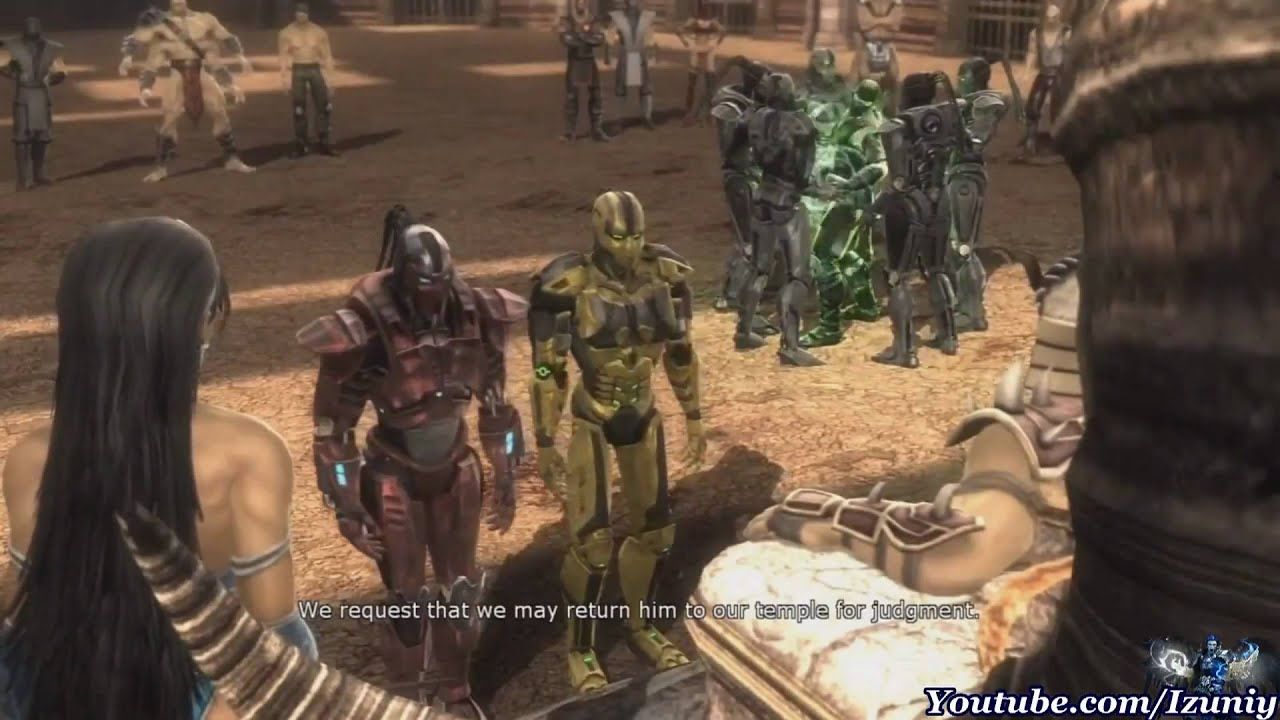 Mortal Scorpion 9 Zero Vs Sub Kombat