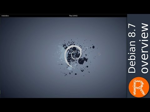 Debian 8.7 overview | The universal operating System