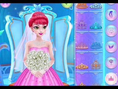 Best Games for Kids - Ice Princess Royal Wedding Day Beauty Salon ...