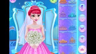 Best Games for Kids - Ice Princess Royal Wedding Day Beauty Salon Learn Makeup Dressup Girl Games
