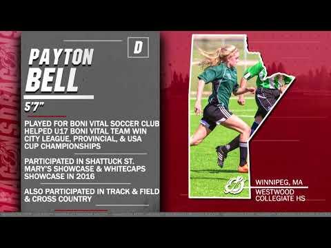 Payton Bell (D, 5-7,Winnipeg, Manitoba/Westwood Collegiate HS)