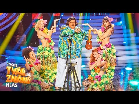 "Martin Dejdar jako Israel - ""Somewhere Over the Rainbow"" | Tvoje tvář má známý hlas"