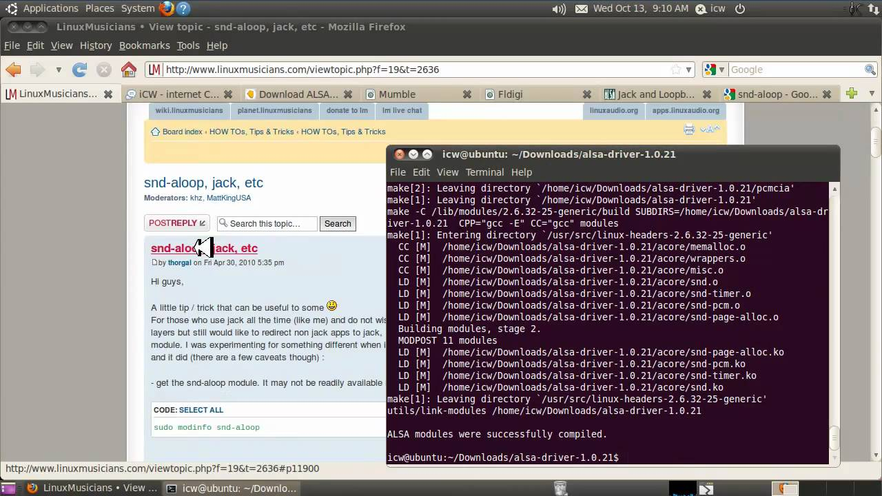 iCW, INTERNET CW: HOW TO SEND MORSE CODE OVER THE INTERNET USING LINUX  (part 3)
